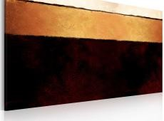Kézzel festett kép - A Föld rétegei