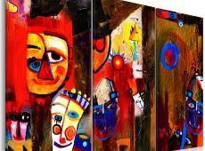 Kézzel festett kép - Abstract Carnival