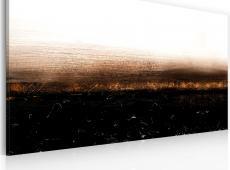Kézzel festett kép - Black soil