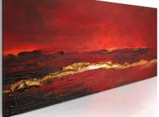 Kézzel festett kép - Bőrpír az óceán