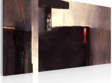 Kézzel festett kép - Egy földalatti átjáró
