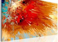 Kézzel festett kép - Explosion