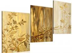 Kézzel festett kép - Golden leaves