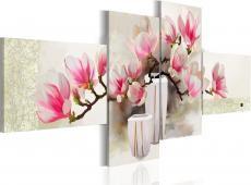 Kézzel festett kép - Illata magnóliák