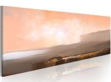 Kézzel festett kép - Között rózsaszín és szürke