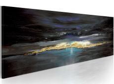 Kézzel festett kép - Miután a vihar jön egy nyugodt