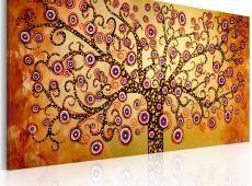 Kézzel festett kép - Peacock tree