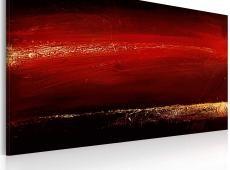 Kézzel festett kép - Vörös rúzs