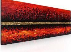 Kézzel festett kép - Vulkán kitörés