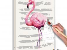 Kifestő - Beautiful Flamingo