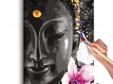 Kifestő - Buddha and Flower