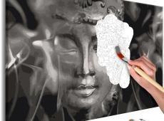 Kifestő - Buddha in Black and White