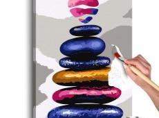 Kifestő - Colored Pebbles