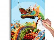 Kifestő - Colourful Dragon
