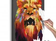 Kifestő - Colourful Lion