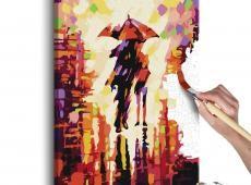 Kifestő - Couple In The Rain