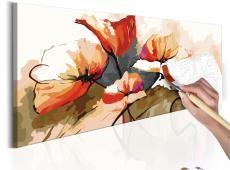 Kifestő - Flowers - Delicate Poppies