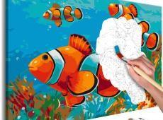 Kifestő - Gold Fishes