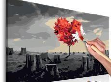 Kifestő - Heart-Shaped Tree