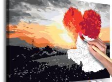 Kifestő - Heart-Shaped Tree (Sunrise)