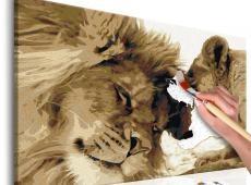 Kifestő - Lions In Love