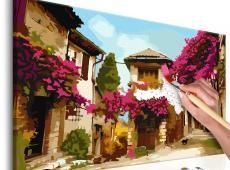 Kifestő - Mediterranean Town