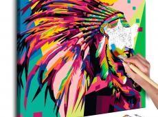 Kifestő - Native American (Plume)