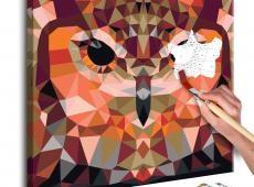 Kifestő - Owl (Geometrical)