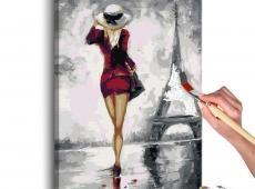 Kifestő - Parisian Girl