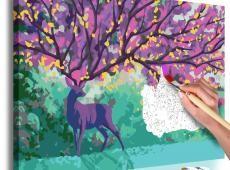 Kifestő - Purple Deer