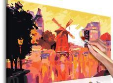 Kifestő - Red Windmill
