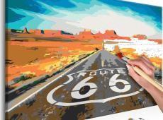 Kifestő - Route 66
