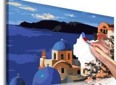 Kifestő - Santorini