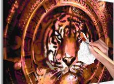 Kifestő - Tiger and Ornaments
