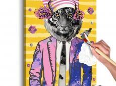 Kifestő - Tiger in Hat