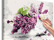 Kifestő - Vase and Flowers
