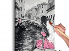 Kifestő - Venice (A Girl In A Pink Dress)