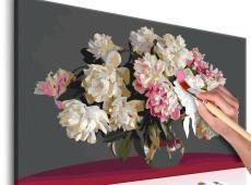 Kifestő - White Flowers In A Vase