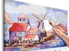 Kifestő - Windmills (Landscape)