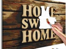 Kifestő - Wooden Home