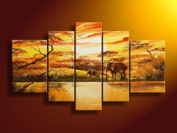 Lisa Auermann vászonkép | 5019by - AFRICAN SUNSET