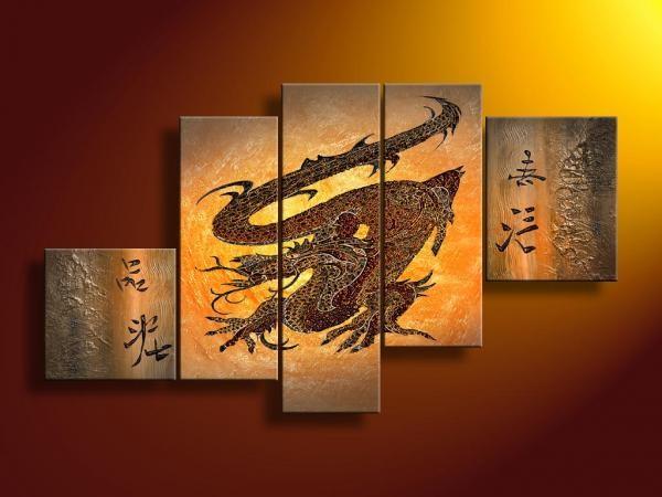 Lisa Auermann vászonkép   5391 (5007) - Szerencsesárkány