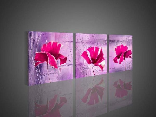 Lisa Auermann vászonkép - 3 Flower 2012326b