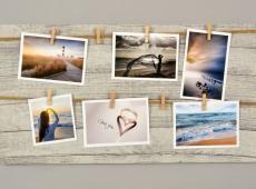 Memories csipeszes fényképtartó 30 x 60 cm