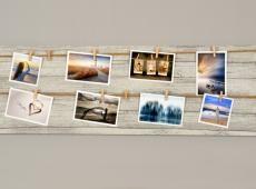 Memories csipeszes fényképtartó 30 x 90 cm