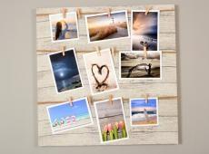 Memories csipeszes fényképtartó 50 x 50 cm