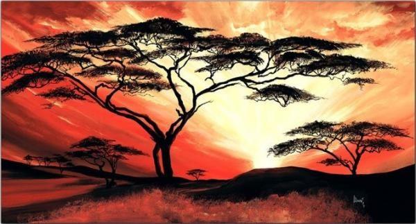 Mia Morró vászonkép | Great Africa