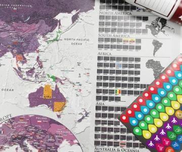 Kaparós térképek - új lakberendezési őrület hódít