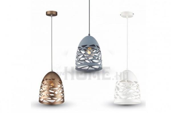 Rete metallica pezsgőarany mennyezeti lámpa