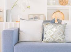 Spark Pillow 110 csontszínű / arany